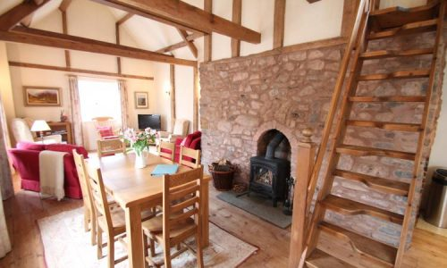 The Hideaway, Dunster, self-catering holiday cottage accommodation