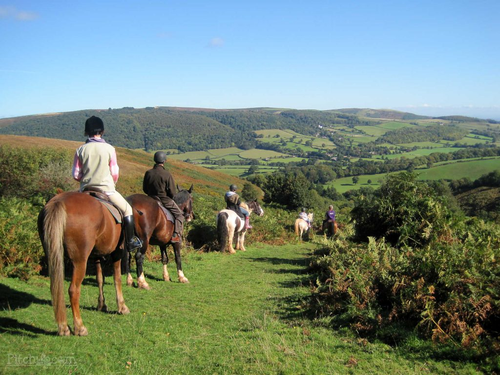 Things to do Exmoor horse riding