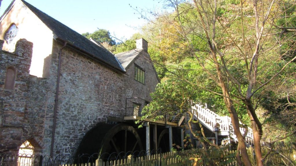 Things to do Exmoor Dunster Watermill