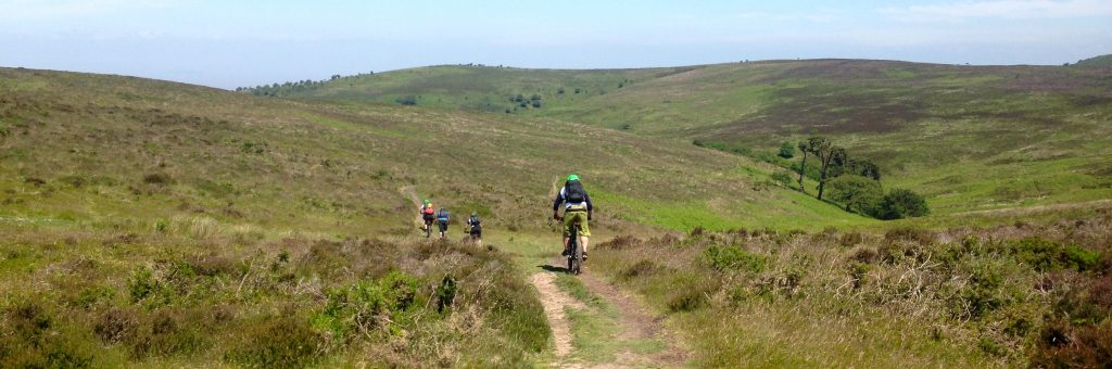Biking over Exmoor