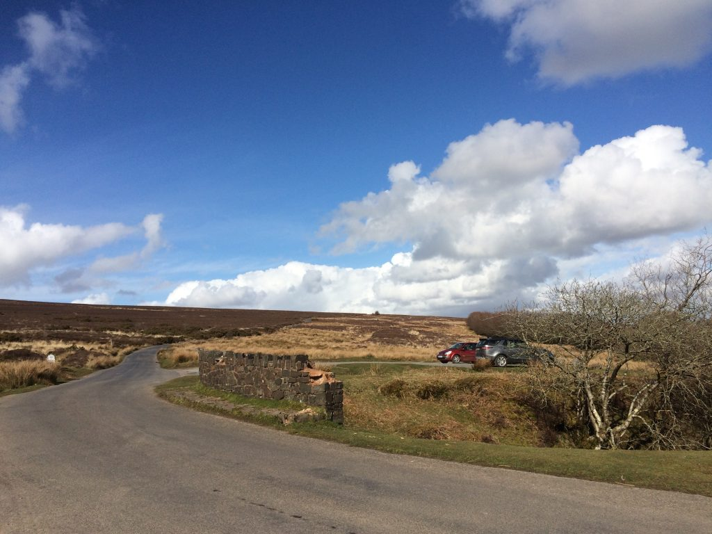 Exmoor Driving Route Dunkery Hill