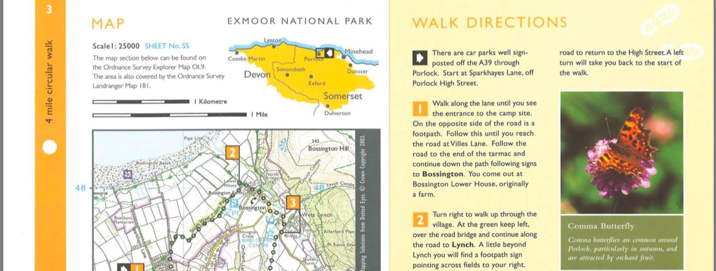Exmoor Circular Walk Porlock