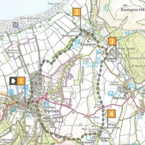 porlock circular walk exmoor