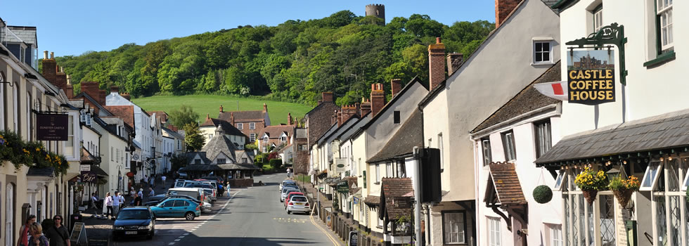 Exmoor Driving Route Dunster