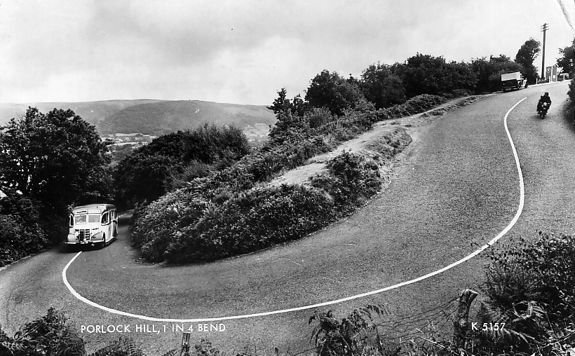 Porlock hill