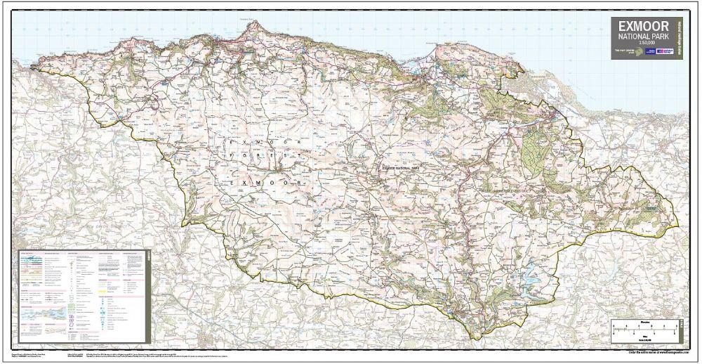 Map Of Exmoor Exmoor Map | Useful Visitor Maps of Exmoor | The Best of Exmoor Blog Map Of Exmoor
