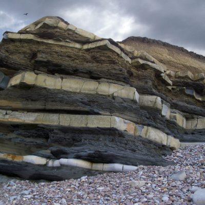 Rock formations Kilve