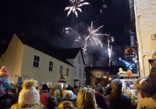 Not just shopping at Dulverton by Starlight