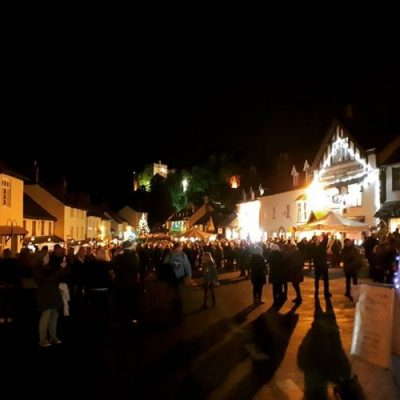 Head to Dunster by Candlelight - Exmoor Christmas Things to Do