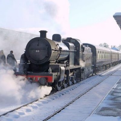 All aboard the Santa Express! Exmoor Christmas Things to Do