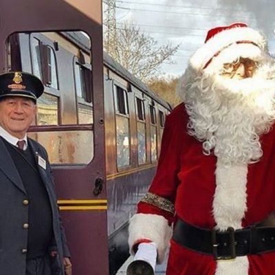 Father Christmas by the Santa Special - Exmoor Christmas Things to Do