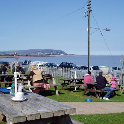 The view from Driftwood Cafe