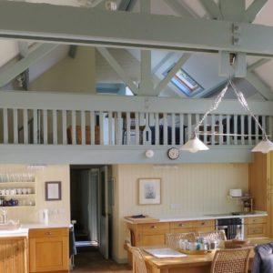 West Huckham Barn accommodation near Wimbleball Lake