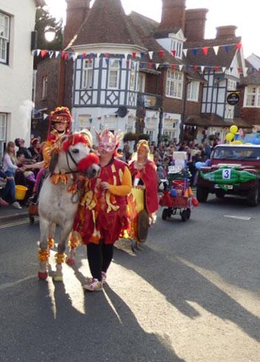 porlock carnival
